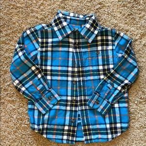 Gap bottom down shirt